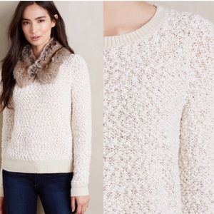 Anthropologie | Moth Wool Knit Sweater